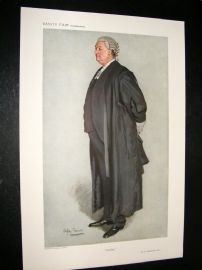 Vanity Fair Print 1911 C.C. Hutchinson, Legal
